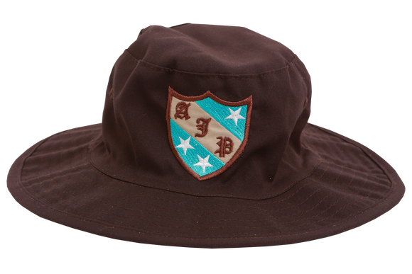 Floppy Hat Brown Emb - Avon Junior Primary