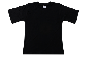 T-Shirt Plain - Black