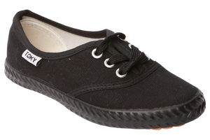 Tomy Takkie Canvas Sneakers - Black