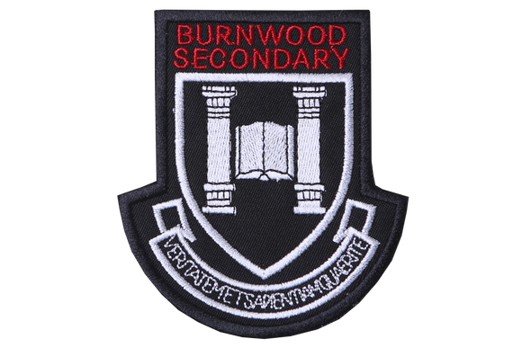 Badge Blazer - Burnwood