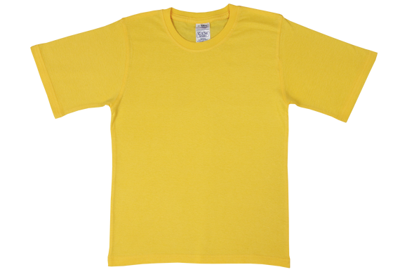 T-Shirt Plain - Yellow
