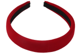 Padded Alice Band Red