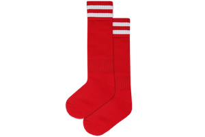 Rugby Socks Nylon - Holy Family College Red/White