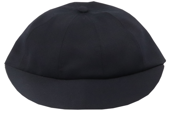 School Cap Plain - Navy