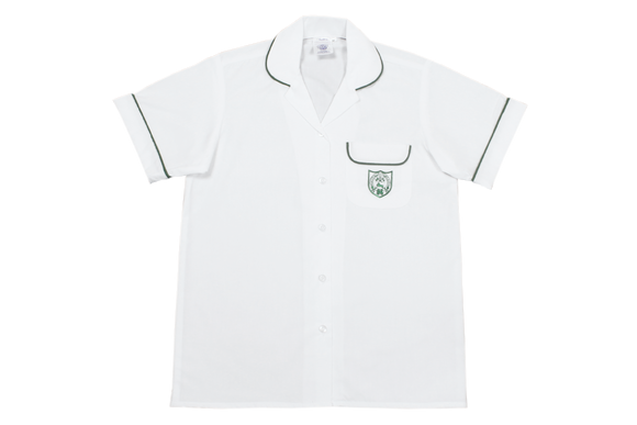 Shortsleeve Roundneck Blouse Emb - Durban Girls High