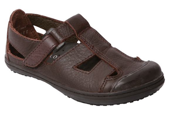 Froggies Boys School Sandals - Brown
