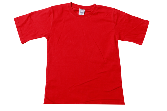 T-Shirt Plain - Red