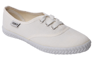 Tomy Takkie Canvas Sneakers - White