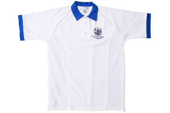 Shortsleeve Cricket Shirt Emb - Kloof High School