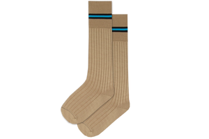 Boys 3/4 Striped Long Socks - Avon Junior Primary