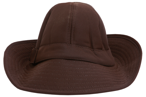Spinlene Plain Hat - Brown