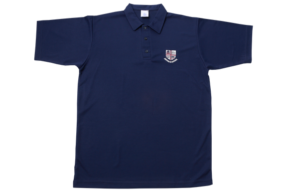 Golf Shirt Navy Emb - Westville Boys' High School