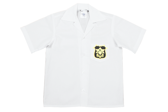 Shortsleeve Plain Emb Shirt - Durban Primary
