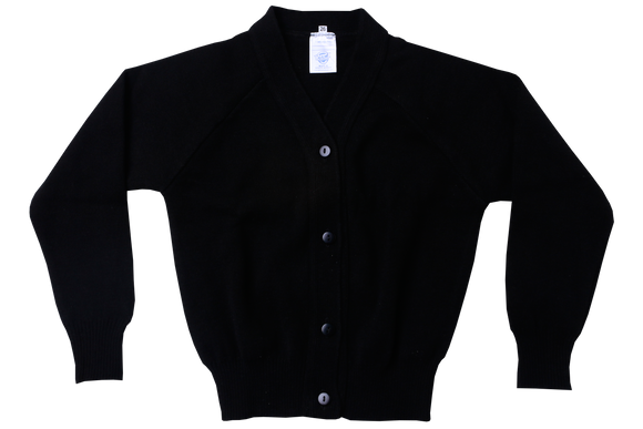 Plain Cardigan - Black