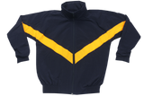 Tracksuit Set Plain  - Navy/Gold