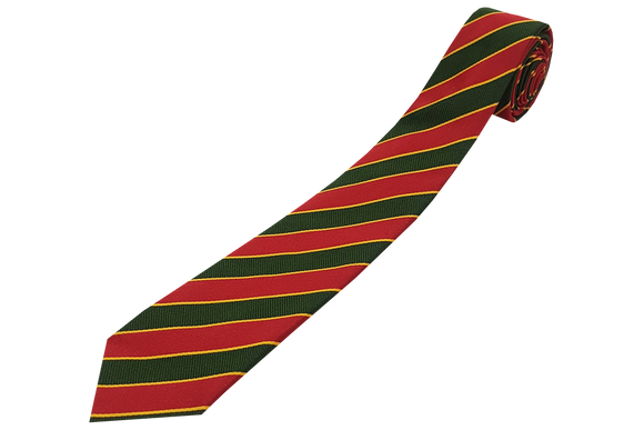 Striped Tie - Glenwood High School