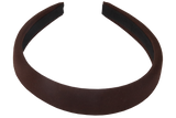 Padded Alice Band Brown