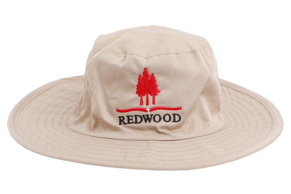 Floppy Hat Sand Emb - Redwood Gr 000- 4 only