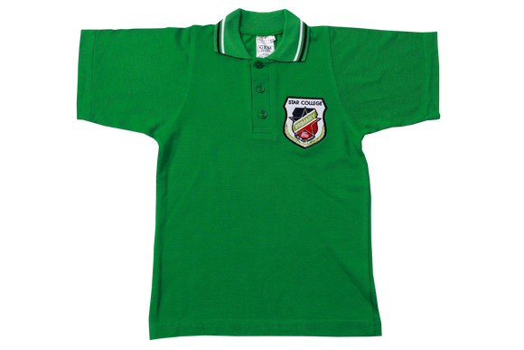 Golf Shirt Avocado Short Sleeve EMB - Star Primary