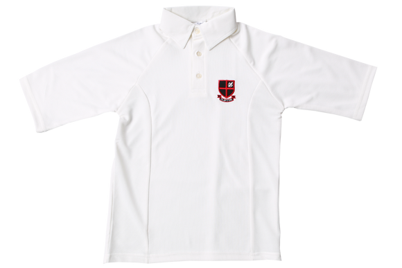 Shortsleeve Cricket Shirt Emb - Clifton