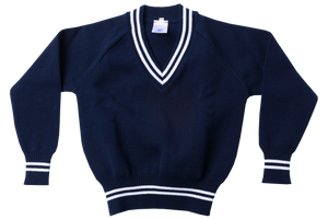 Longsleeve Striped Jersey - Peaceville Navy/White