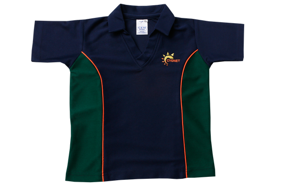 Golf Shirt Moisture Management Emb - Cygnet (Boys)