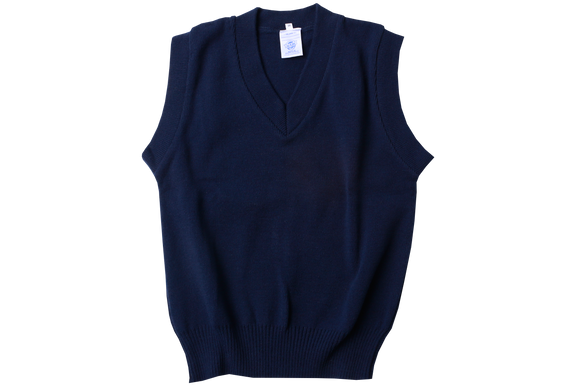 Sleeveless Pullover - Navy