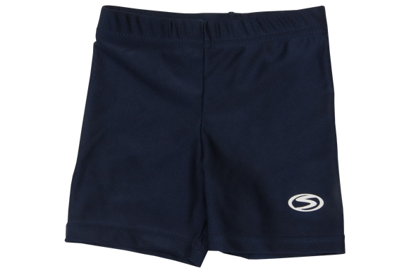 Second Skins - Swim Tights - Short - Mid-Thigh Length - Navy