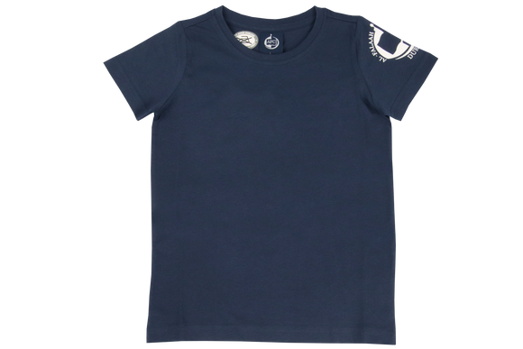 Girls T-Shirt Printed - Al-Falaah Navy (NEW 2021)