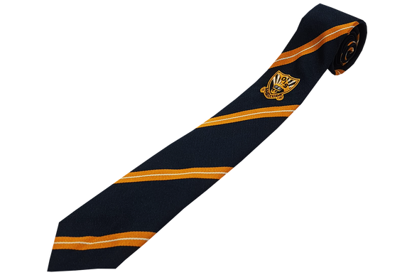 Striped Tie Emb - Orient