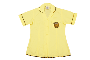 Shortsleeve Roundneck Blouse Emb - Kharwastan Secondary