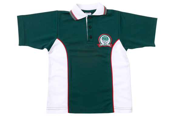 Golf Shirt Moisture Management EMB - Glenashley Boys Junior