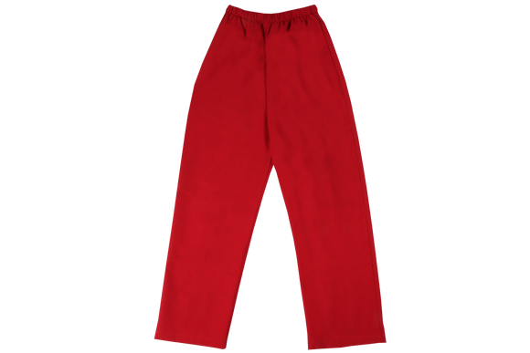 Elasticated Plain Pants - Ad lazurus