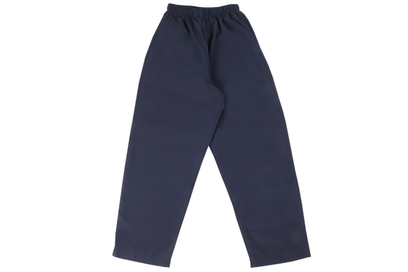 Elasticated Pants - navy