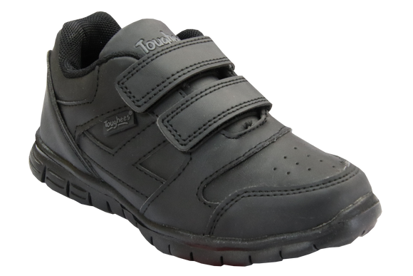 Toughees Elana Velcro Takkies - Black (Discontinued)