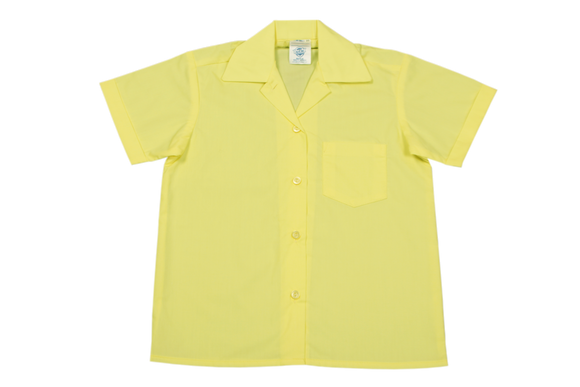 Shortsleeve Gladneck Blouse - Lemon