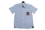 Shortsleeve Check  Emb Shirt - Kenmont