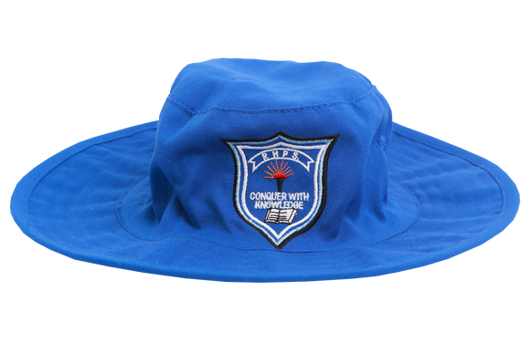 Floppy Hat Royal Emb - Reservoir Hills Primary