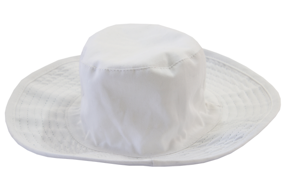 Floppy Hat Plain - White