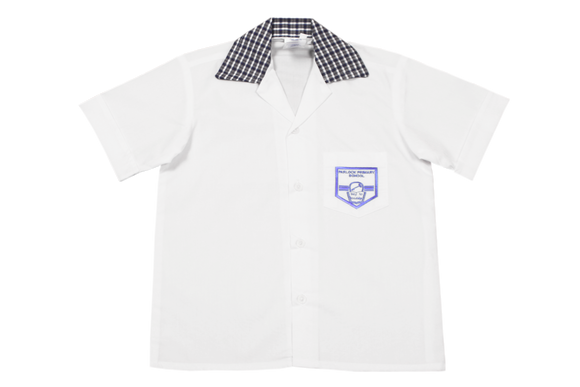 Shortsleeve Plain Emb Shirt - Parlock