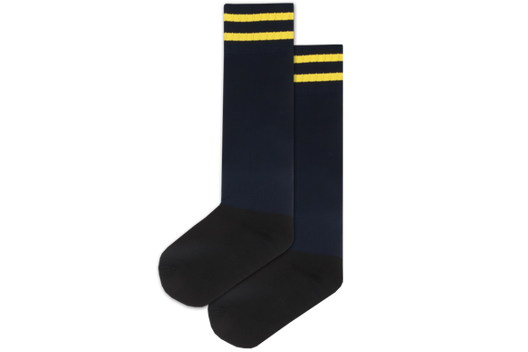 Rugby Socks Nylon - Kloof Junior Primary Navy/Yellow