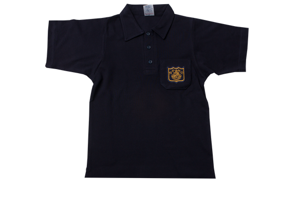 Golf Shirt Navy EMB - DPHS GR R