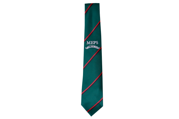 Striped Tie Emb - Mt.Edgecombe Private School