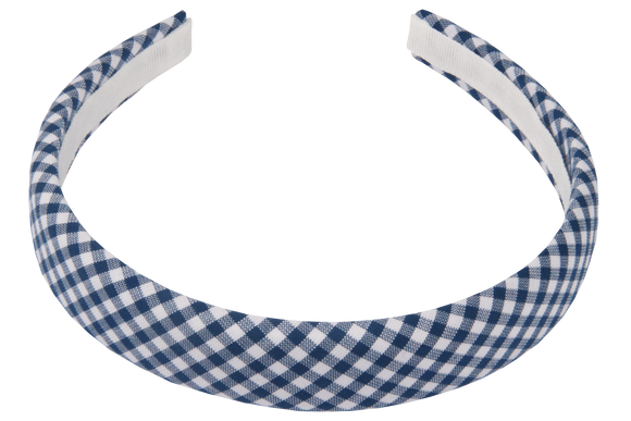 Berea Check Padded Alice Band