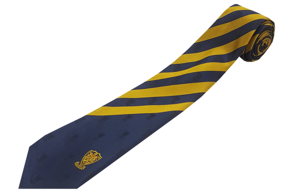 Striped Emb Tie - Durban High School