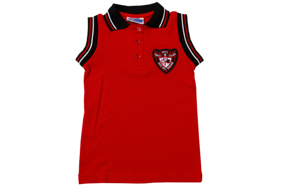 Golf Shirt S/Less EMB - Holy Family College (Netball/Hockey)