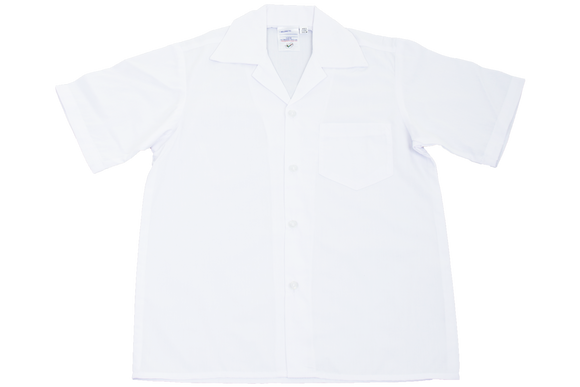 Shortsleeve Gladneck Shirt - White