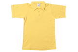 Golf Shirt Plain - Yellow