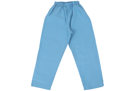 Elasticated Plain Pants - Clayton