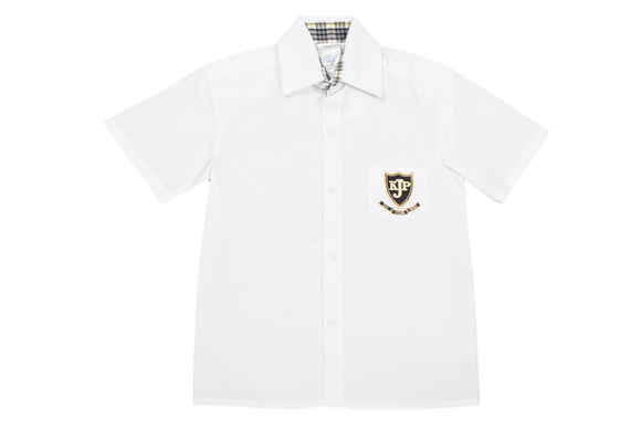 Shortsleeve Plain Emb Shirt  - Kloof Junior